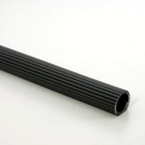 ゴムパイプカバー 黒 内径約32×450mm カット入り 5本入り