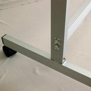 ホワイトボード脚付き両面1200×900回転式脚付マグネット対応【送料込み】