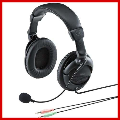 サンワサプライ マルチメディアPCヘッドセット ヘッドホン マイク MM-HS524BK Skype(スカイプ)などのボイスチャット対応