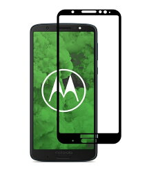 Moto g6 Plus 全面保護フィルム Moto G6 PLUS ガラスフィルム g6plus 強化ガラス 9H 全画面保護 メール便 送料無料
