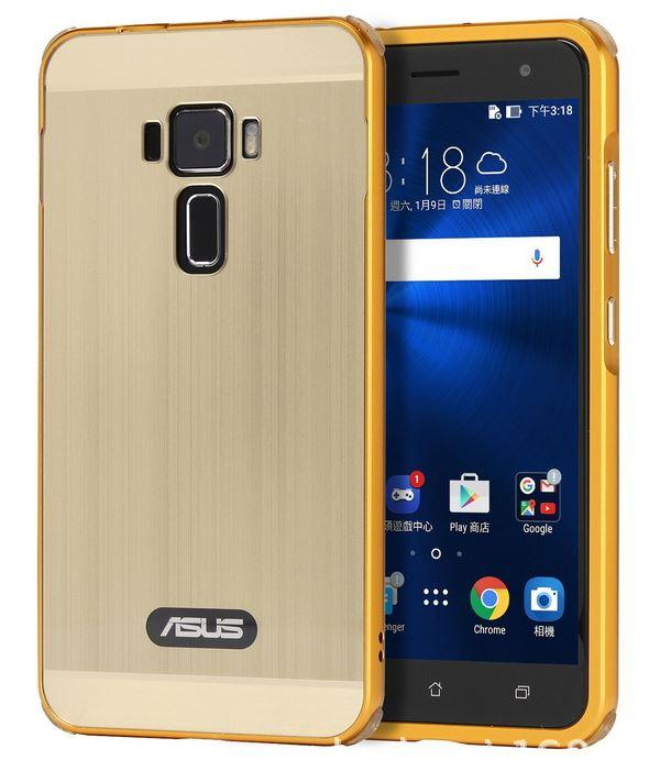 Asus ZenFone 3 ZE520KL ケース ZenFone3 カバー バンパー アルミ バンパーケース メール便 送料無料