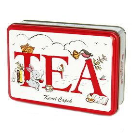 カレルチャペック Tea Break缶 ギフト缶 アソート カップ用ティーバッグ(6P) 【ポイント2倍/在庫有】【食品B】【RCP】【p1130】