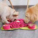 訓練毛布 餌マット 嗅覚訓練 ストレス解消 ノーズワーク 運動不足 ペット用品 集中力向上 ペット ペットおもちゃ 性格…