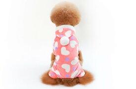 只今10倍ポイント4/15まで 犬 服 秋冬 トレーナー ピンク 桃の心 犬 冬服 セール 犬 服 可愛い ペット テディ プードル 犬服 洋服