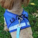 ハーネス ベストハーネス 犬 犬具 胴輪 散歩 超小型犬 小型犬 中型犬 XS S M L XL お出かけ 簡単装着 犬服 ドッグウェア グレー レッド ネイビー ブラック