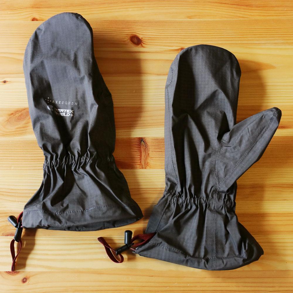 AXESQUIN - ライトシェルウォータープルーフミトン [ アクシーズクイン RG3563 ユニセックス 登山・ハイキング 超軽量 防水 防風 手袋 ]