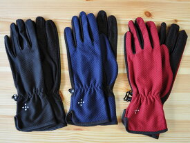 AXESQUIN - ウィメンズ・UVメッシュグローブ ロング [アクシーズクイン Women's UV Mesh Glove Long 登山・ハイキング UVカット レディース 手袋]