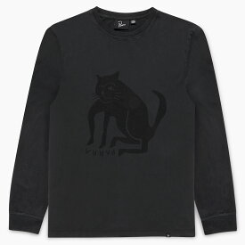 by Parra - long sleeve t-shirt cat [ ROCKWELL ロックウェル バイ パラ メンズ&レディース 長袖Tシャツ L/S Tee キャット 猫 ]