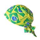 ブラジル国旗デザインバンダナ ブラジルグッズ