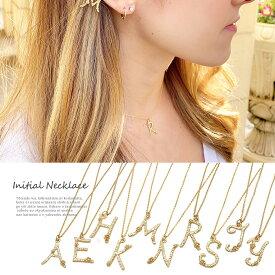 ネックレス イニシャル に想いを込めて...華奢なラインが大人かわいい フラワー flower ネックレス SS 0416