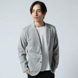 テーラードジャケット メンズ 春 テーラード カジュアル 日本製 ミラノリブ 2ボタン Upscape Audience アップスケープオーディエンス SPU オリジナル