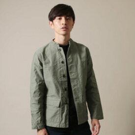 メンズファッション 日本製 ヨコムラ バックサテン スタンド ジャケットUpscape Audience アップスケープオーディエンス