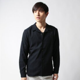 春 メンズファッション 日本製 ワンナップ オープンカラー デザイン シャツ Buyer's Select バイヤーズセレクト