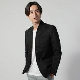 メンズ ジャケット メンズファッション イタリア BESTE コットン ツイル ノーカラージャケット AUDIENCE オーディエンス