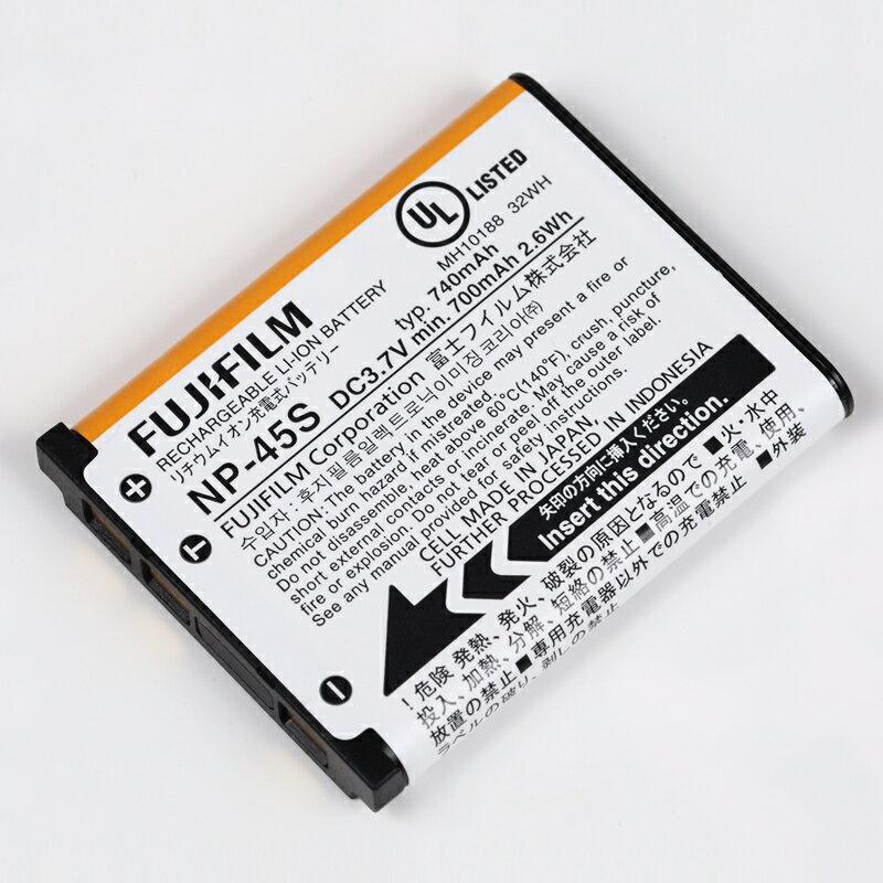 ポイント5倍!2/9 20:00〜2/16 1:59 FUJIFILM フジフイルム 純正 NP-45S バッテリー 充電池 NP45S