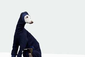 イタグレ 服 vemvem ヴェムヴェム イタリアングレーハウンド・ウィペット専用スーツ フェイス:スピードスーツ/ネイビー サイズ S/M/L/XL/XX