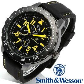 [正規品] スミス&ウェッソン Smith & Wesson ミリタリー腕時計 CALIBRATOR WATCH YELLOW/BLACK SWW-877-YW [あす楽] [送料無料]