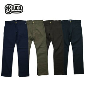BLUCO【ブルコ】ワークパンツ OL-063E-018 SLIM WORK PANTS -Strech-