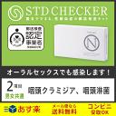 STD研究所 性病検査キット STDチェッカー タイプN 男女共通 2項目 クラミジア 淋菌 のど 咽頭 男性 女性 男 女 性病 …