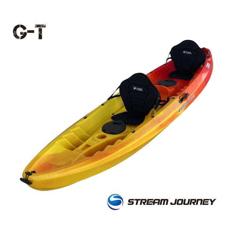 GT(Giant Trevally)/ジーティー カヤック本体/OY【送料無料】【カヤック】【アクティビティ】【カヌー】【シーカヤック】【フィッシングカヤック】レッド&オレンジ&イエロー