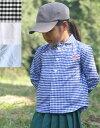 【ネコポス対応】【キッズ】DANTON (ダントン)キッズラウンドカラーシャツ(JD-3603)ポケット付き