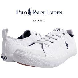ポロ ラルフローレン POLO Ralph Lauren ラルフ スニーカー/RF101621 靴 ブランド スニーカー カジュアル シューズ ポニー刺繍 キャンバス 疲れにくい シンプル おしゃれ きれいめ 白 プレゼント 贈り物