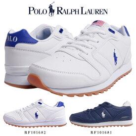 ポロ ラルフローレン POLO Ralph Lauren ラルフ スニーカー/RF101681 RF101682 靴 ブランド スニーカー カジュアル シューズ ポニー刺繍 合皮 疲れにくい シンプル おしゃれ きれいめ 白 ネイビー プレゼント 贈り物 ORION