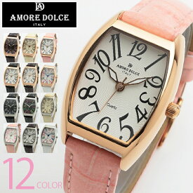 腕時計 レディース Amore dolce アモーレドルチェ CITIZEN MIYOTA ムーブメント 搭載 腕時計 全12色 1年保証 ボックス付き 送料無料 新生活 プレゼント