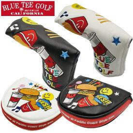 BLUE TEE GOLF ブルーティーゴルフ 限定モデル スマイル & バーガー パターカバー 2サイズ・各2色 1227 新生活 プレゼント