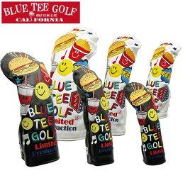 【店内全品ポイント10倍&クーポン割引!7/11(土)1:59迄】BLUE TEE GOLF ブルーティーゴルフ 限定モデル スマイル & バーガー ヘッドカバー 3サイズ・各2色 1227 新生活 プレゼント