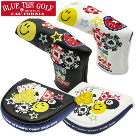 BLUE TEE GOLF ブルーティーゴルフ 限定モデル スマイル & ベガス カジノ パターカバー 2サイズ・各2色 1227 新生活 プレゼント