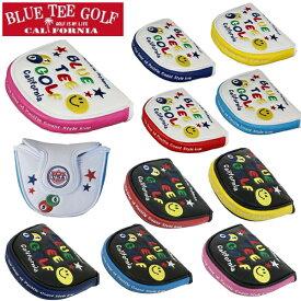 BLUE TEE GOLF ブルーティーゴルフ ピンボール &スマイル パターカバー マレットタイプ 全10色 新生活 プレゼント