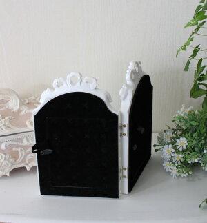 リボンモチーフの2ウィンドウフォト(ホワイト)♪♪写真立てシャビーシックフレンチカントリーアンティーク雑貨姫系輸入雑貨antiqueshabbychic