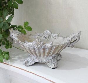 アンティーク風のClassicChicシリーズ♪(猫足コンポート・小物入れ)コンポート花器小物入れロココアンティーク輸入雑貨antiqueshabbychic