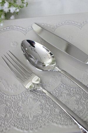トリアノン・ディナーカトラリー(ナイフ・フォーク・スプーン)ステンレス製輸入食器カトラリーシルバーヨーロピアンネコポス便OK