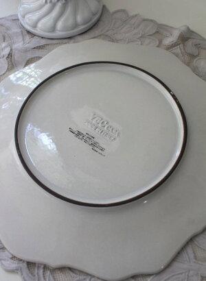 【LaCeramicaV.B.Cラ・セラミカイタリア】ディナー皿(047・048)ディナープレートイタリア製輸入食器シャビーシックアンティーク風洋食器