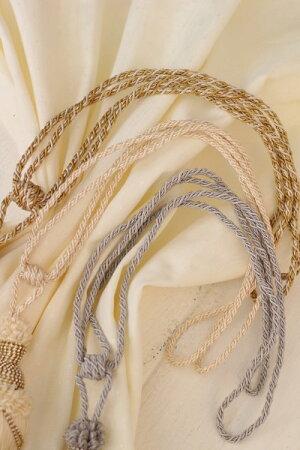トルコ製の美しいタイバック・タッセル♪(ドロップ型・ホワイト・ベージュ・グレー)タッセルタイバックカーテン留めカルトナージュタッセル飾り輸入雑貨