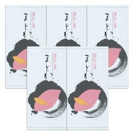 深蒸し茶 まどか 100g×5袋セット 袋入り 【送料無料】 八女茶 かごしま茶 ブレンド 煎茶 日本茶 茶葉 お茶っぱ お茶の葉