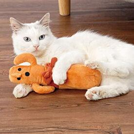 送料無料 ペティオ (Petio) 猫用おもちゃ おどる電動けりぐるみ ハニワ