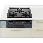 ガス W600ガラストップ片面焼黒 パナソニック ラクシーナ リビングステーション リフォムスなどのキッチン周り商品 QSEG32N3NA13A