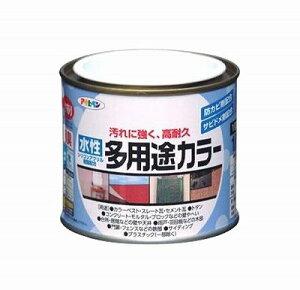 【2セット】アサヒペン 水性多用途カラー 1/5L ライトグレー