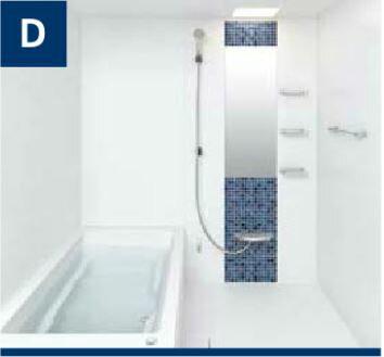 リノビオ Vシリーズ システムバスルーム セットイメージD サイズ:1116