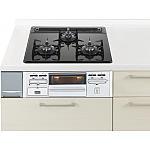 ガス W600ガラストップ片面焼銀 リビングステーション ラクシーナ等のパナソニック キッチン用 商品