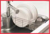 スキマレスシンクM用 水切りカゴ パナソニック ラクシーナ リビングステーション リフォムスなどのキッチン周り商品 QS36SC4C2