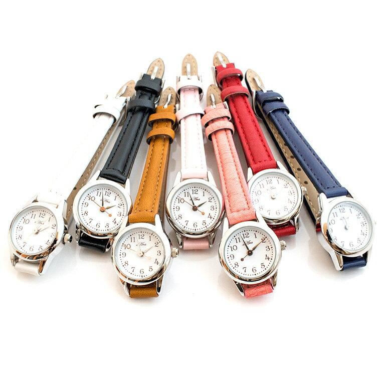 丸型腕時計 ウォッチ レディース 日本製ムーブメント メイドインジャパンムーブメント シンプル ビジネス カジュアル デイリー