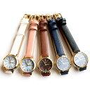 大理石調マーブル文字盤 本革ベルト腕時計 レディースウォッチ 日本製ムーブメント メイドインジャパンムーブメント カジュアル