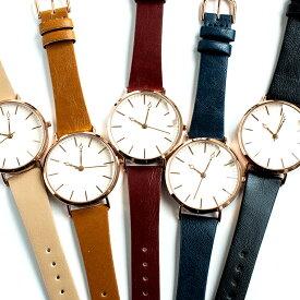 6d634e97f6 日本製バーインデックスのレディース腕時計 丸型 メイドインジャパン ラグジュアリー カジュアル ホワイト ブラウン