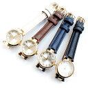 日本製 ローマ数字&バーインデックスのレディース腕時計 丸型 メイドインジャパン ラグジュアリー カジュアル ホワイト ブラウン ネイビー ブラック