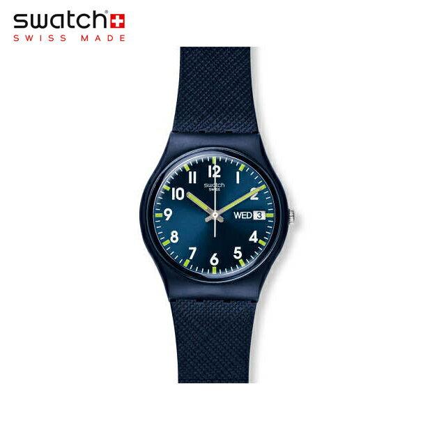 【公式ストア】Swatch スウォッチ SIR BLUE サー・ブルー GN718Originals (オリジナルズ) Gent (ジェント) 【送料無料】メンズ/腕時計/人気/定番/プレゼント