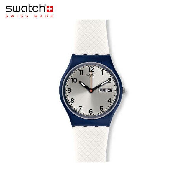 【公式ストア】Swatch スウォッチ WHITE DELIGHT ホワイト・ディライト GN720Originals (オリジナルズ) Gent (ジェント) 【送料無料】メンズ 腕時計 人気 定番 プレゼント